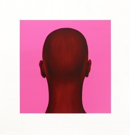 Salomon Huerta Untitled (Head), 2002 Lithograph