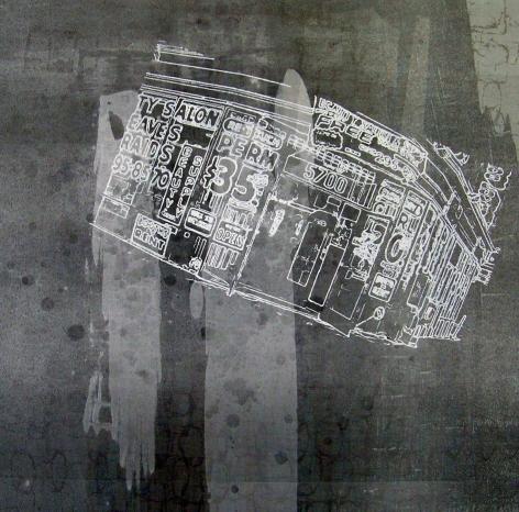 Mark Bradford, Print 34