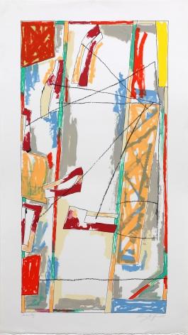 Craig Kauffman  Untitled. 1981  Lithograph