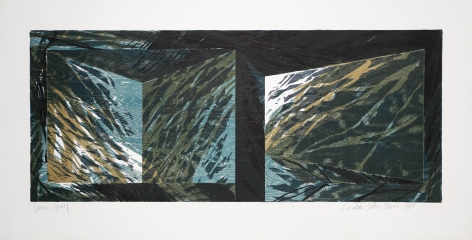 Laddie John Dill Untitled, 1985 Lithograph, woodblock