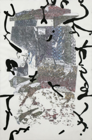 Jenny Balin Sonenberg, Topography Drawing 5