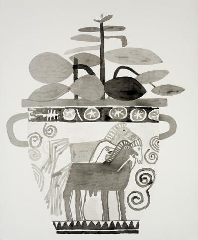 Jonas Wood, Untitled