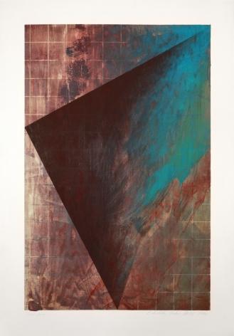 Laddie John Dill Untitled, 1990 Woodblock monoprint