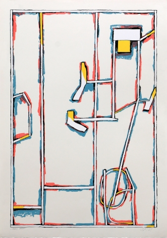 Craig Kauffman, Untitled, State I