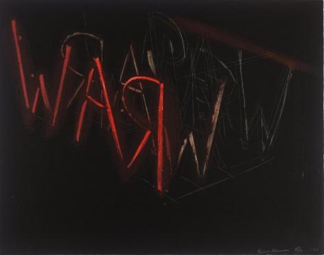 Bruce Nauman, Raw War