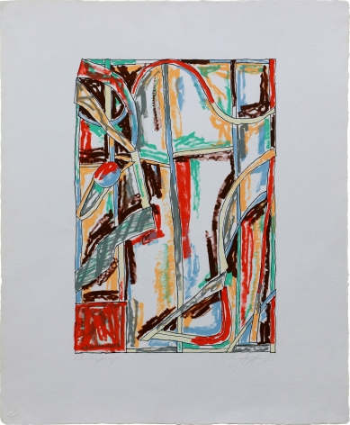 Craig Kauffman  Untitled, 1981  Lithograph