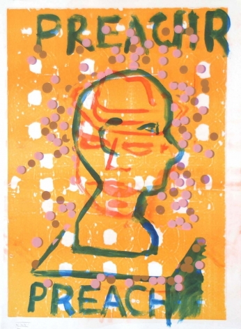 Jason Meadows Hybrids, 2004 Lithographic Monoprint, silkscreen, ed. 131, no. 31 30 x 22 in.