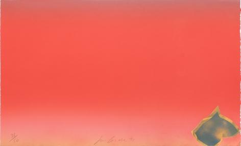 Joe Goode  Untitled, 1971  Lithograph, silkscreen