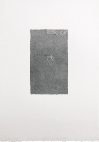Marvin Harden The Thing Seen Suggest, This and Other Existences, 1974 Lithograph