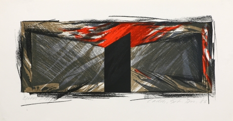 Laddie John Dill Untitled, 1984–85 Lithograph
