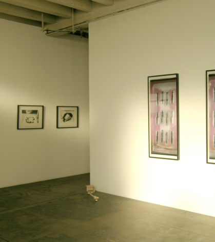 Painting by Letters, Installation View 2