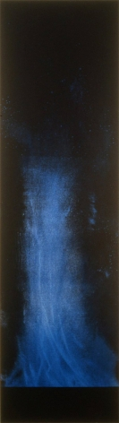 Lita Albuquerque, 100 Breaths, Litographic monoprint, no. 78 from an edition of 111 unique prints