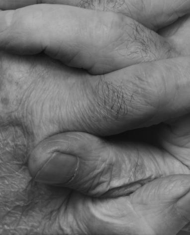 John Coplans, Interlocking Fingers, No. 7