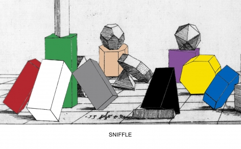 Engravings with Sounds: Sniffle, 2015