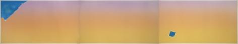 Joe Goode  Untitled, 1972  Lithograph, silkscreen (triptych)