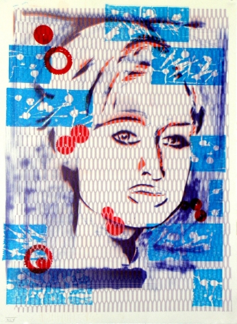 Jason Meadows Hybrids, 2004 Lithographic Monoprint, silkscreen, ed. 131, no. 95 30 x 22 in.