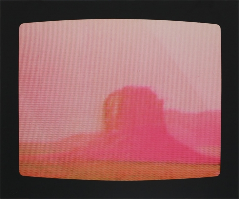 Peter Alexander, Monument Valley, 1972, Lithograph on Kromekote