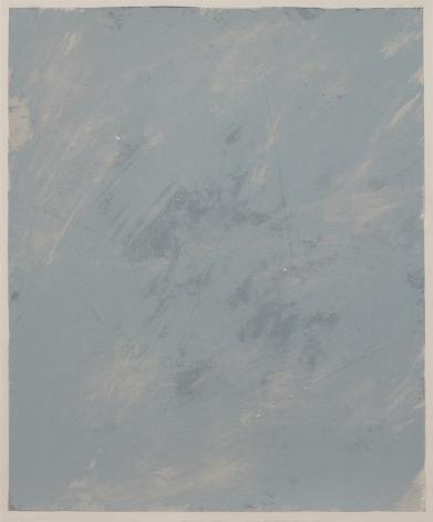 Joe Goode  Rainy Season '78, No. 6, 1978  Lithograph with razor blade impression b by artist
