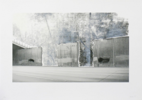 Ruben Ochoa Untitled, 2006 Lithographic Monoprint with hand-painted appliqué, ed. 40, no. 27 20 1/2 x 29 1/4 in. 644c-RO06 $1,200