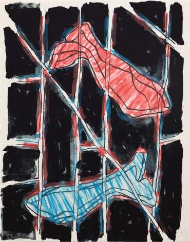 Craig Kauffman  Untitled, 1983  Lithograph