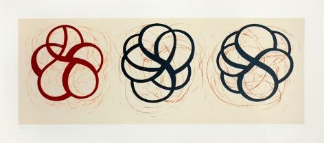 Craig Kauffman, Untitled (Three Knots)