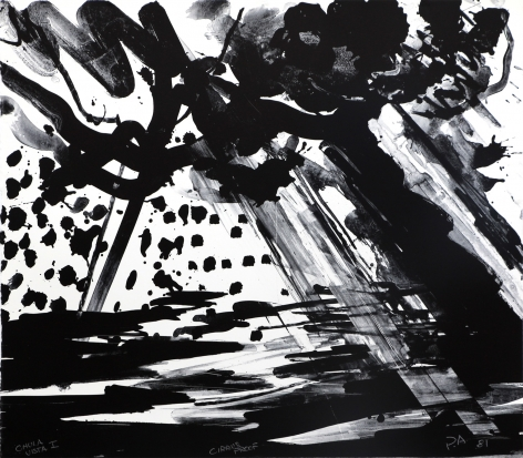 Peter Alexander, Chula Vista I, 1981, Lithograph