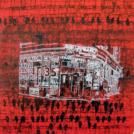 Mark Bradford, Print 20