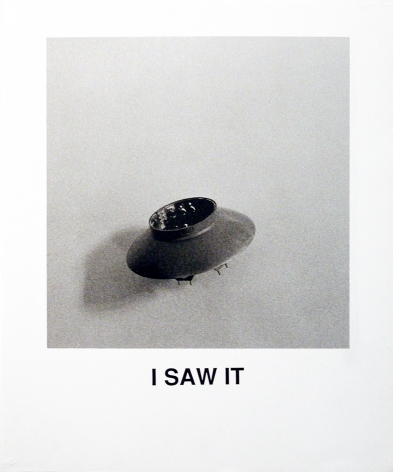 John Baldessari  I Saw It, 1997  Lithograph