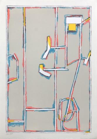Craig Kauffman, Untitled, State II