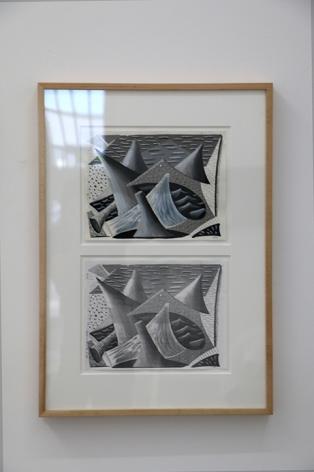 David Hockney, Geometric Waves