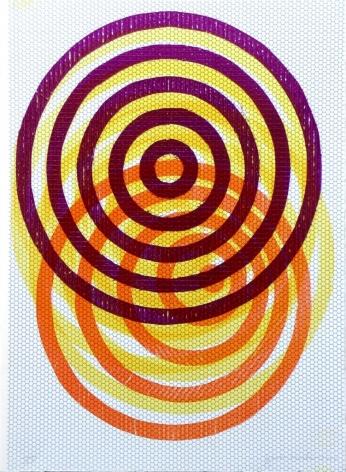 Jason Meadows Hybrids, 2004 Lithographic Monoprint, silkscreen, ed. 131, no. 15 30 x 22 in.