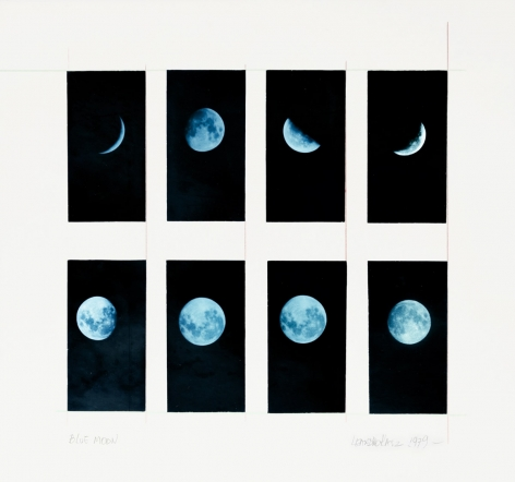 Leandro Katz, Blue Moon