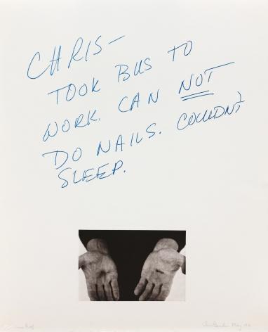 Chris Burden, Untitled