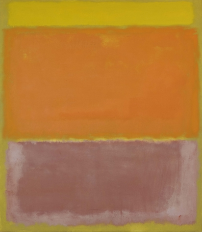 Mark Rothko, Untitled, 1960, oil on canvas, 92 1/2 x 81 inches (235 x 205.7 cm) © 1998 by Kate Rothko Prizel and Christopher Rothko