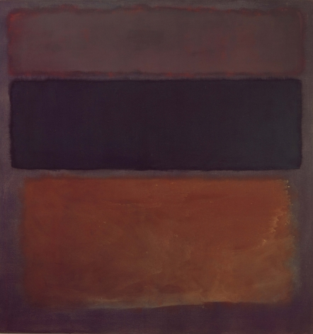 Mark Rothko, No. 10, 1963, oil on canvas, 69 x 64 inches (175.3 x 162.6 cm)© 1998 by Kate Rothko Prizel and Christopher Rothko