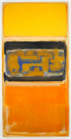 Mark Rothko, No. 1, 1949, oil on canvas, 78 1/4 x 39 5/8 inches (198.8 x 100.6 cm) © 1998 by Kate Rothko Prizel and Christopher Rothko
