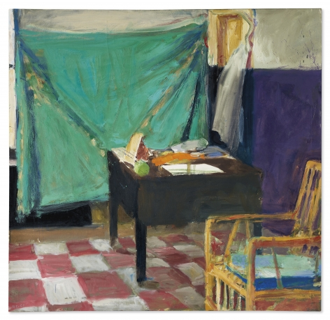 Richard Diebenkorn, Corner of Studio