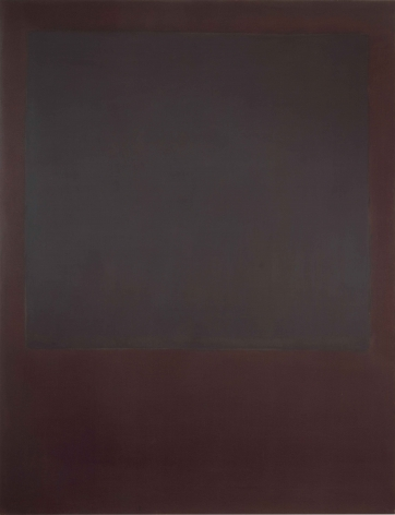 Mark Rothko, No. 5 {Untitled}, 1964, oil on canvas, 90 x 69 inches (228.6 x 175.3 cm) © 1998 by Kate Rothko Prizel and Christopher Rothko