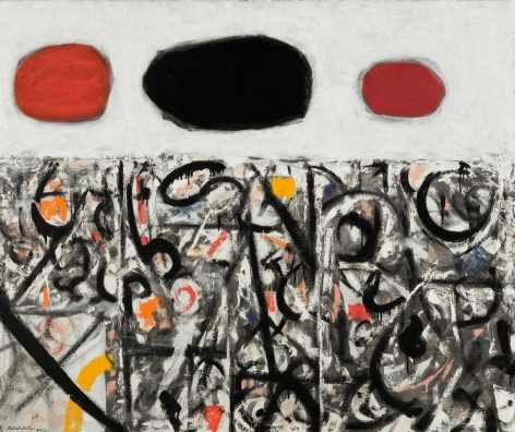 Adolph Gottlieb Cold Front #2