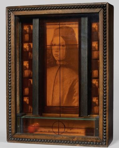 Joseph Cornell, Untitled (Medici Series, Pinturicchio Boy)