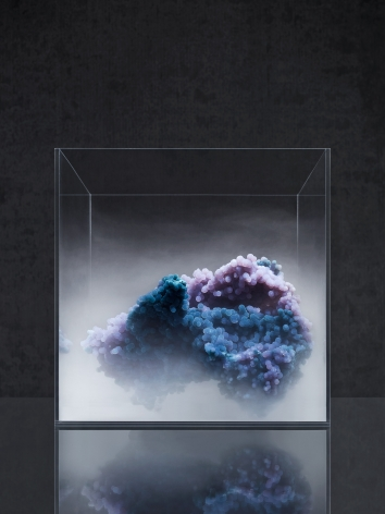 Evan D'Arpino Pithoviridae Abiogenesis Pigment Print 24x30