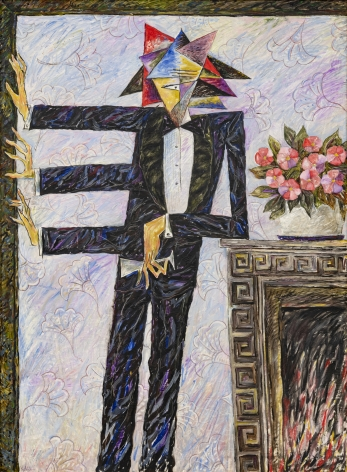 ALEXANDER KALETSKI Black Tie, 1986