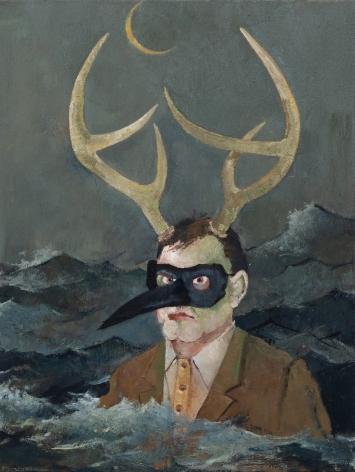 JOHN ALEXANDER Rigid Man, 2020