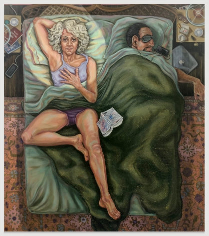 PATTY HORING Self Portrait Worrying About The Future, 2020