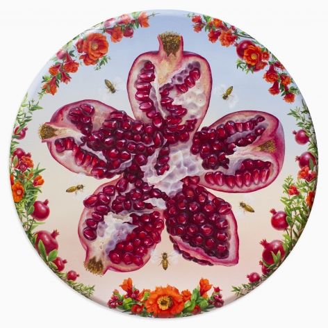 ALONSA GUEVARA Call of the Pomegranate, 2020 Anna Zorina Gallery
