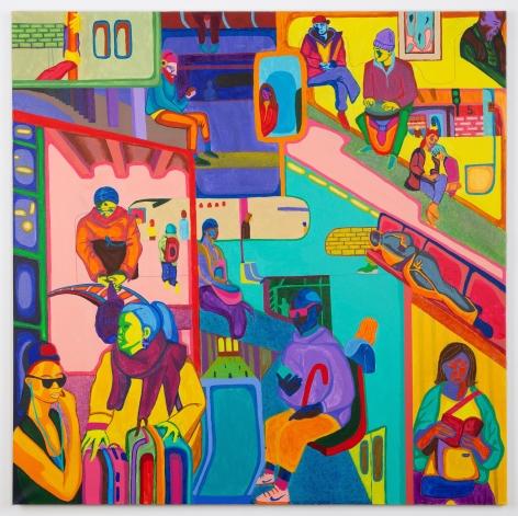 BETHANYA ABEBE Train, 2020 Anna Zorina Gallery