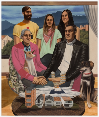 ESTEBAN OCAMPO Retrato Familiar, 2020