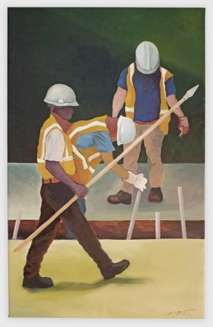 JONATHAN YUBI Construction on the Maginot, 2020 Anna Zorina Gallery