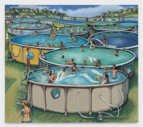 ROB THOM 12 Pool Party, 2020