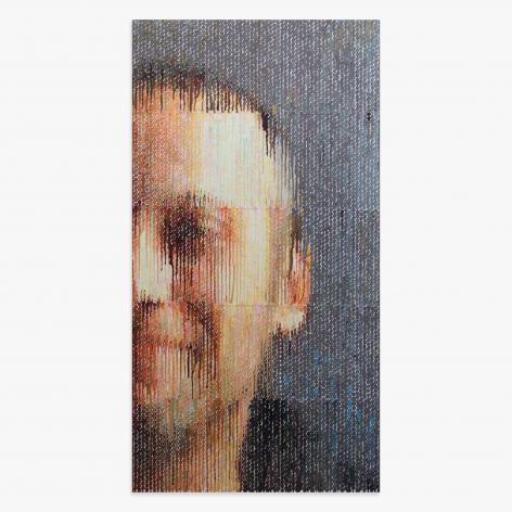 Bradley Hart Self-Portrait, 2020 Anna Zorina Gallery